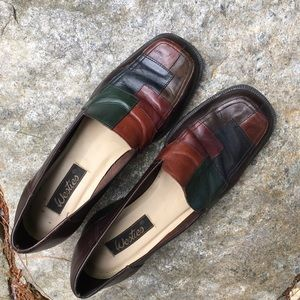 Vintage WESTIES Patchwork Leather Loafer